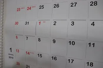 ロールカレンダー