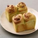 抹茶のミニ食パン