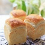 湯種食パンとメロンパン