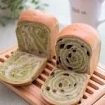 5月の定番「抹茶ブレッド」2種と、「レタスと桜エビの中華卵スープ」