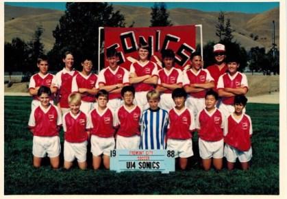 1988 Sonics Soccer Group Photo