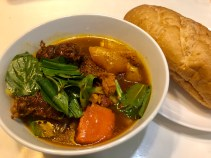 Bo Kho (beef stew) with baguette