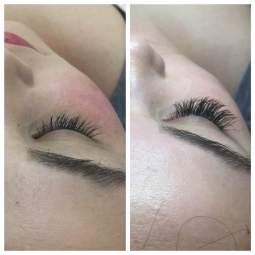 "Medium Length Classic Lash Extensions ""Gorgeous"" Shape"