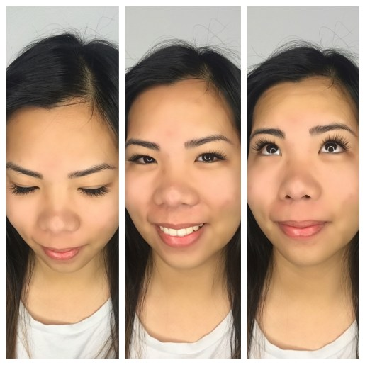 """Short Length Classic Lash Extensions """"Natural"""" Shape on Monolid Eyes"""