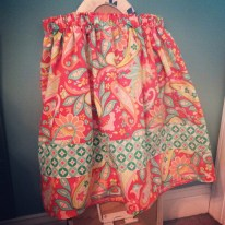 Riley Blake fabric skirt