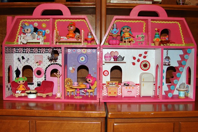 I Created My Own Lalaloopsy Mini Doll House Diary Of A