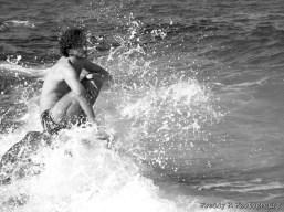 The power of sea. Agii Apostoli, Greece. pc - Frederick Peters.