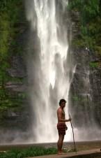 Wli waterfalls Lower Falls.