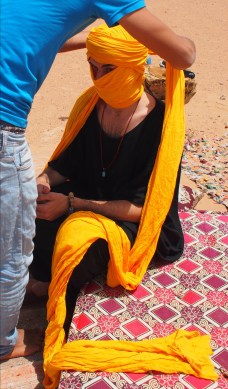 this turban was 11 meters!
