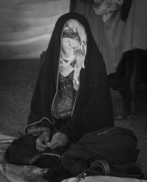 A traditional Bedouin woman... a dying breed.