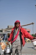 The Chai Waala with an attitude.... When I asked him if I could take a picture.. he froze for me..