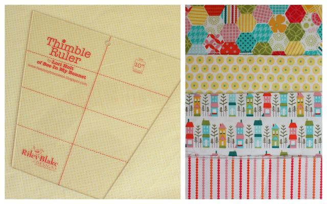 Lori Holt Thimble Ruler template