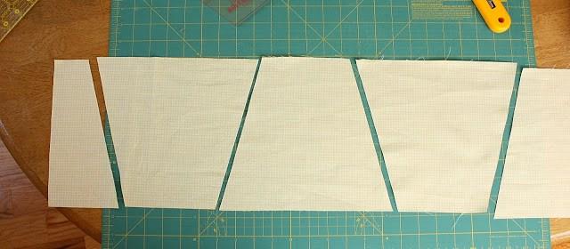 Cutting Tumbler Quilt Blocks