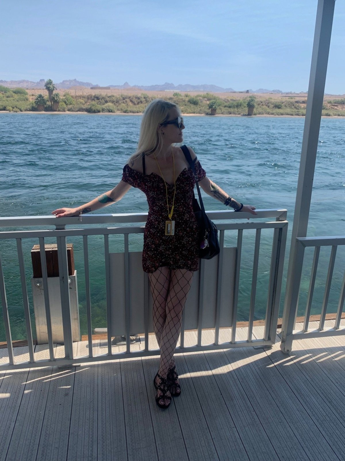 me standing on Laughlin boat dock