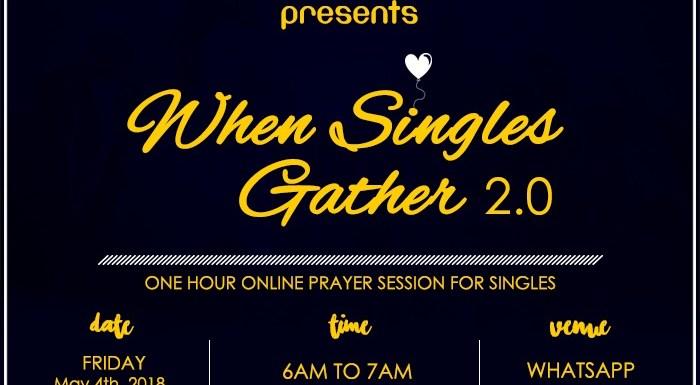 When Singles Gather 2.0