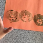 potato stamp craft