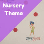 Inside Out and polka dot nursery theme