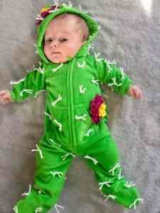 cactus baby costume