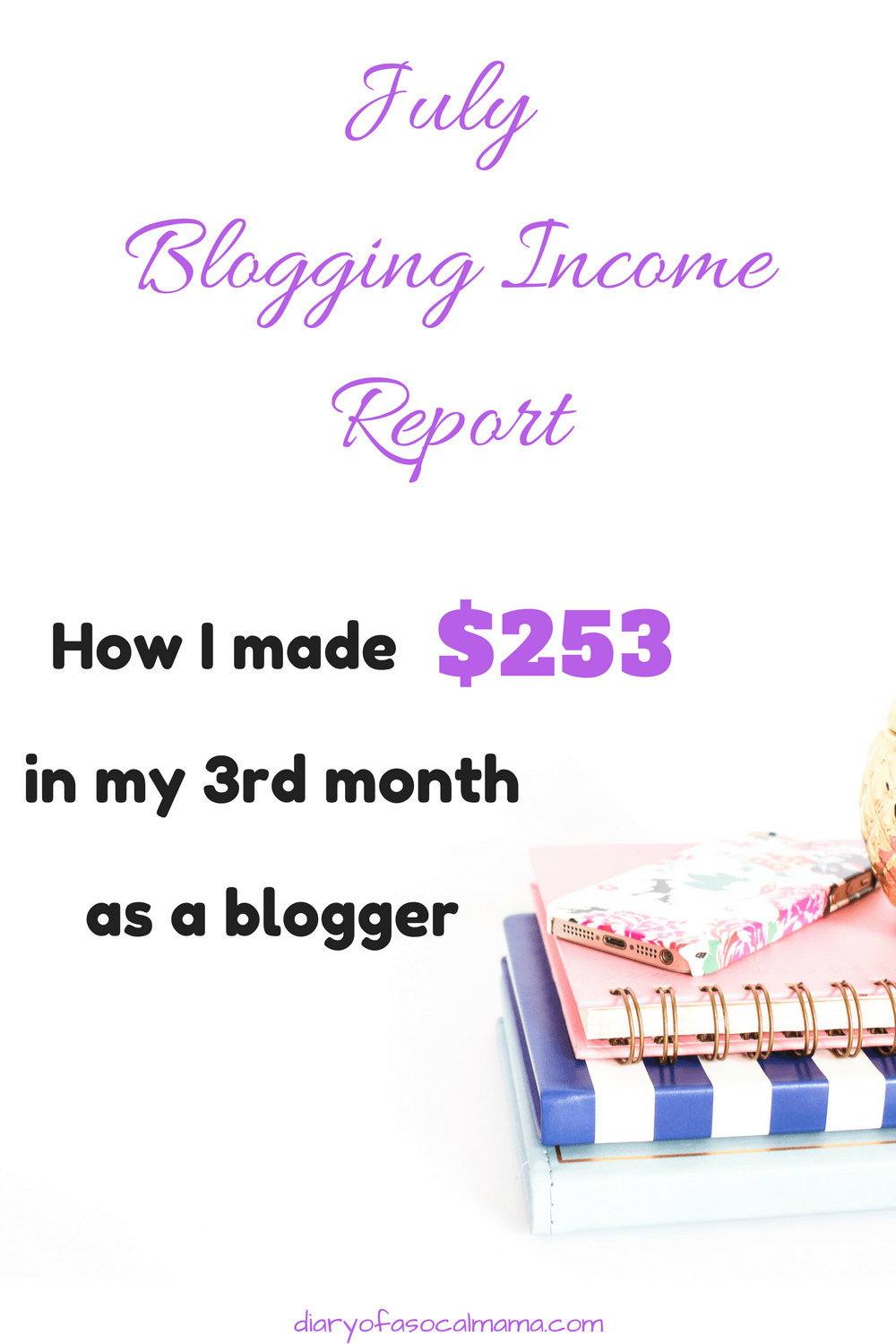 July blogging report