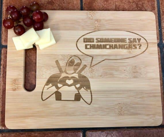Deadpool cutting board
