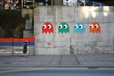 Invader mosaic
