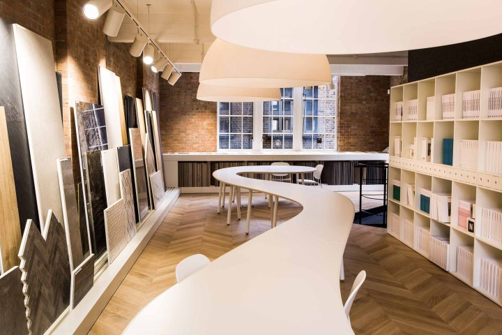The new Marazzi showroom in St John's Street, Clerkenwell