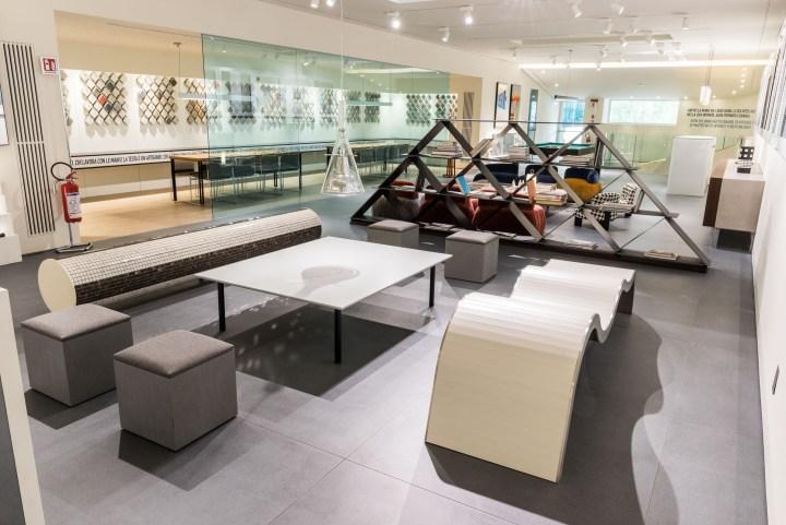 The New Caesar Gallery in Fiorano Modenese