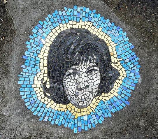 Bachor, Murals in the Market, ceramic vigilante, pothole aretha