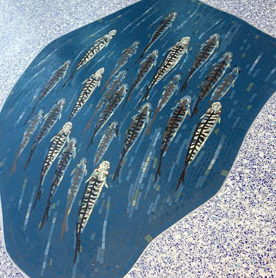 mackerel californian seashore mosaic hospital gary drostle