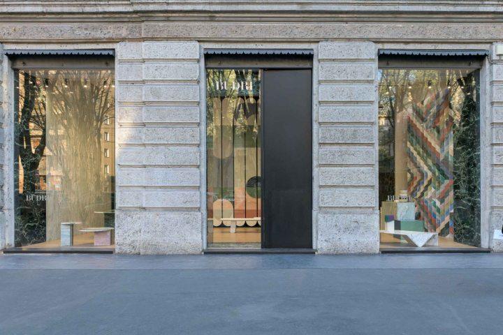budri showroom Patricia Urqiola marble design interior