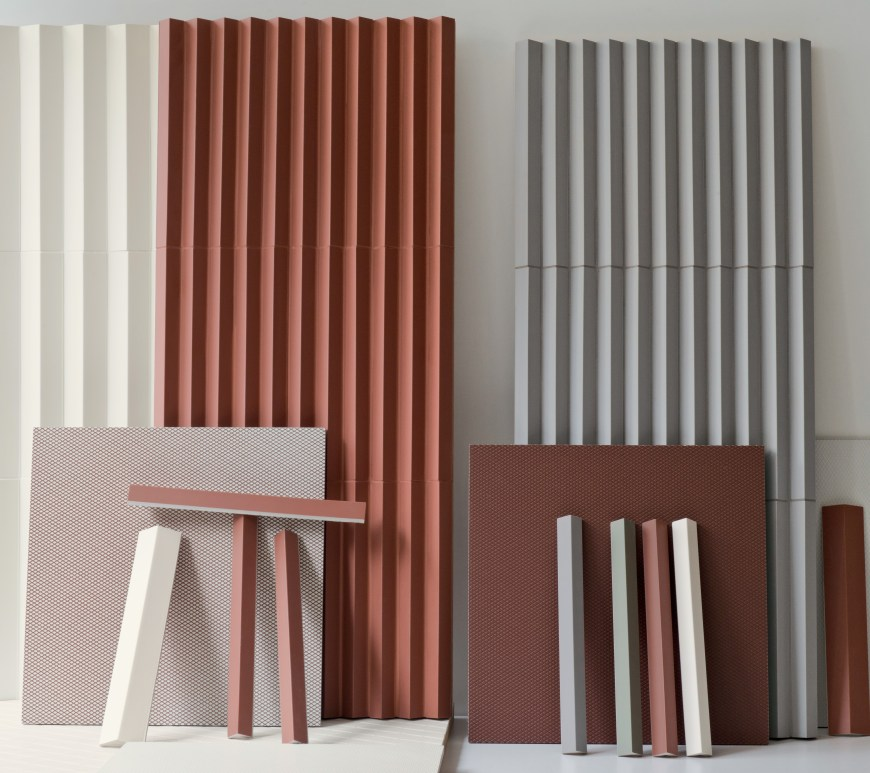 Rombini Mutina Bouroullec brothers tile design