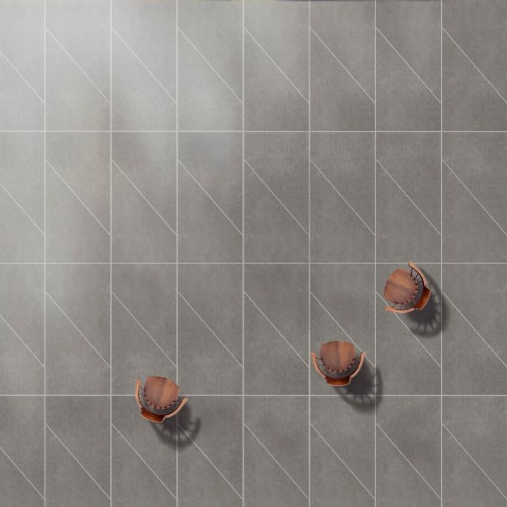 Momo large format tile design