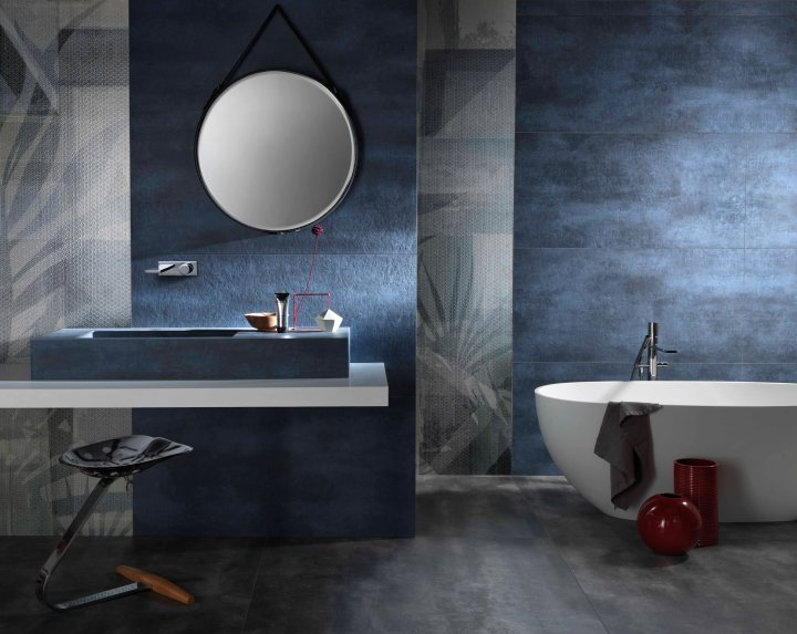 Gigacer translucent textured decor tile collection