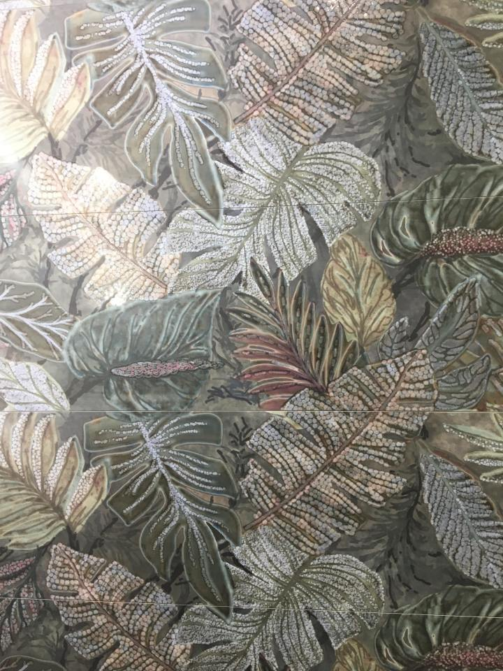 Jungle print tiles from Azulev tile trend 2020