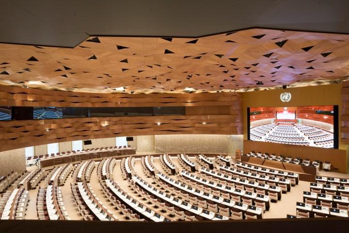 United Nations Geneva XIX architecture design PEIA