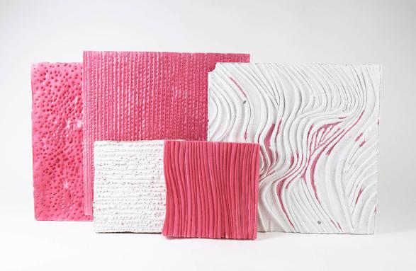 Pink Foam Textures enis askiev