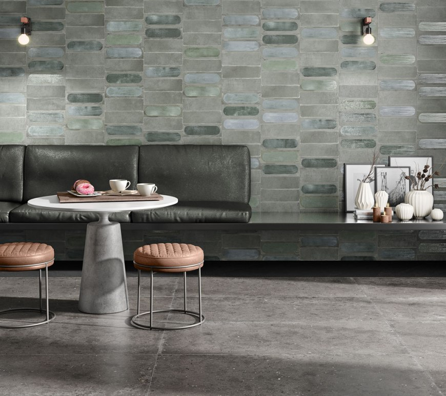 Iris Ceramica Blaze new tile collection gloss