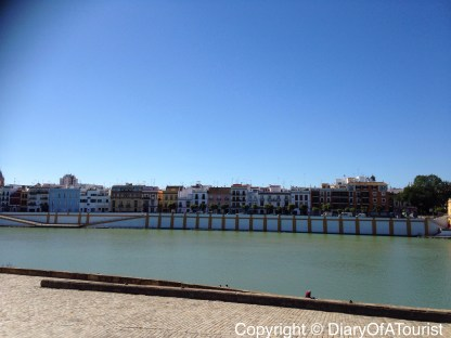 View of Triana across the river