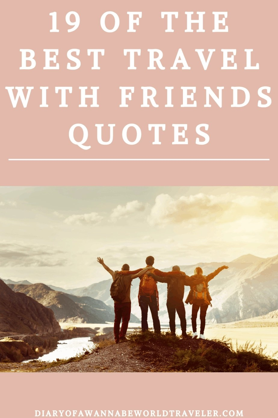 Friends quote pin