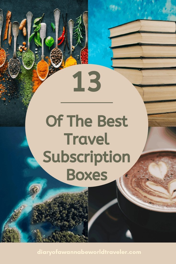 Travel subscription boxes