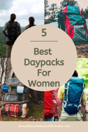 Best daypacks for women pin