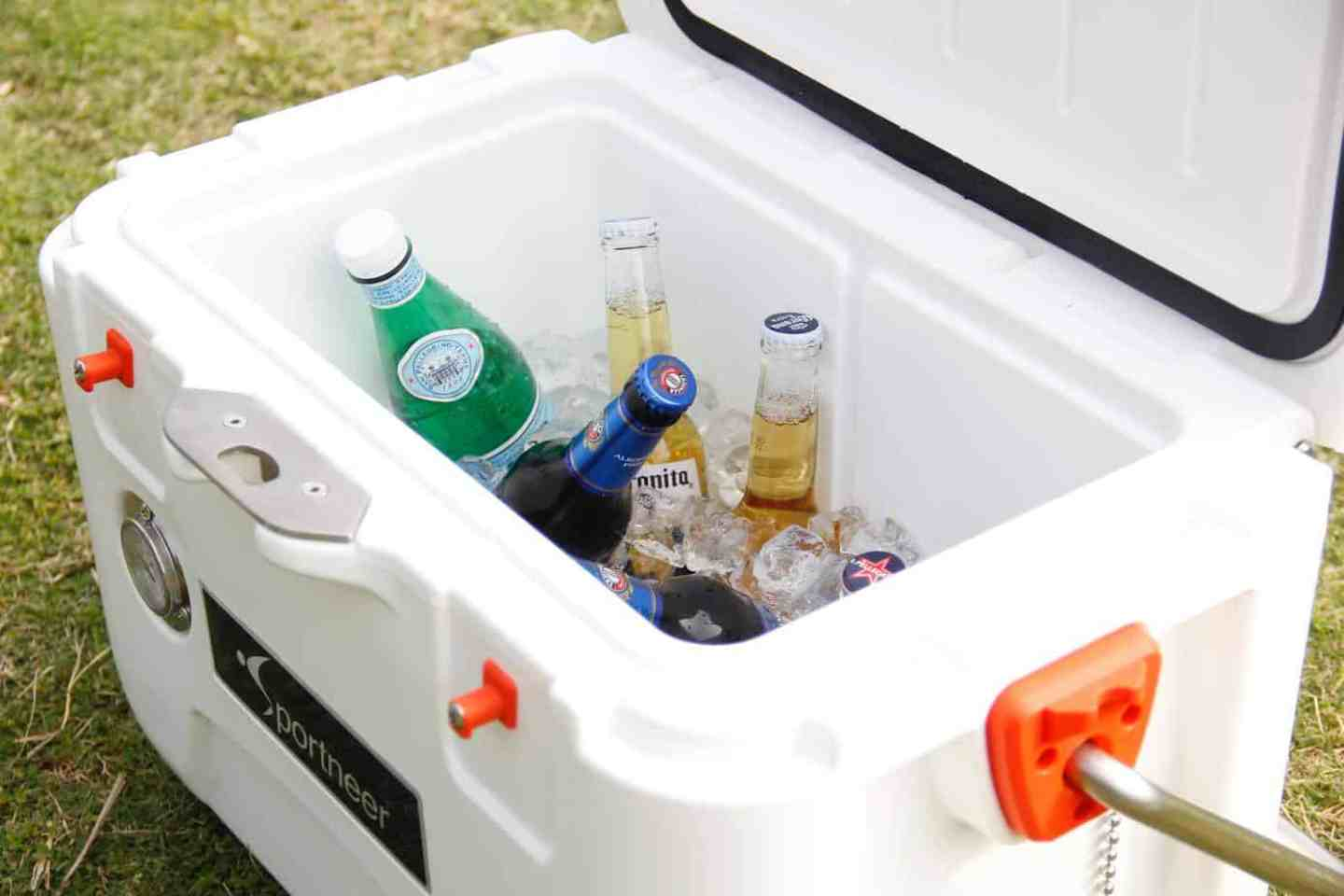 Camping tips- cooler