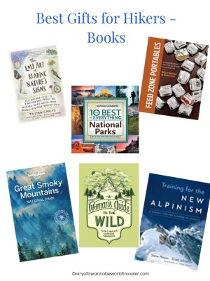 gifts for hikers books