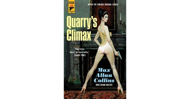 quarry's climax - max allan collins - book review - diary of difference - reader blog - seo - digital marketing