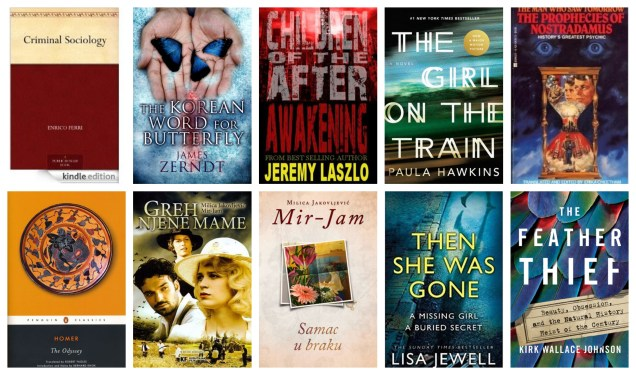 down the tbr hole books book review blog diary of difference love tbr am reading harry potter lord of the rings the hobbit romance erotica kindle amazon free the girl on the train the odyssey mir-jam serbia mystery thriller crime