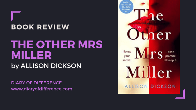 Book review blog blogging netgalley goodreads books reading reader the other mrs miller by allison dickson hq harper collins publishers