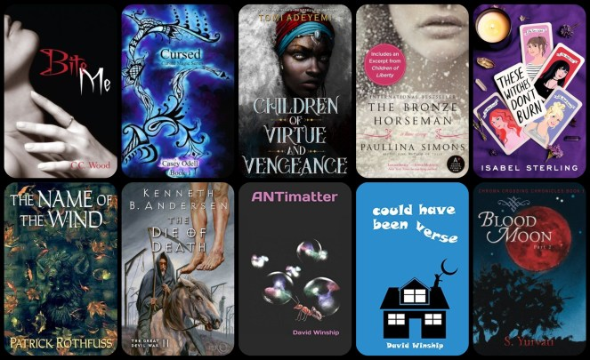 down the tbr hole romance book blog goodreads netgalley love diary of difference diaryofdifference tomi adeyemi children of blood and bone children of virtue and vengeance isabel sterling these withces don't burn