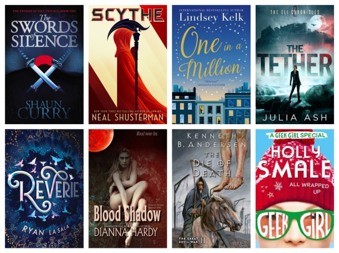 september tbr book books reading currently reading bookshelf wheel spin scythe reverie holly smale lindsey kelk goodreads blog blogging diary of difference diaryofdifference
