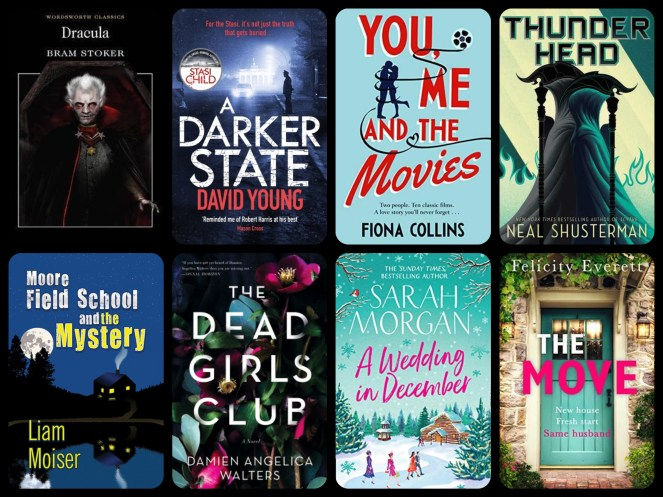 december tbr edition christmas dracula bram stoker thunderhead the dead girls club the move wedding in december sarah morgan neal shustermangoodreads netgalley blog blogging diary of difference