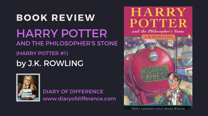 Harry Potter and the philisopher's stone sorcerer's voldemort ron weasley hermione granger j.k. rowling fantasy magic adventure hogwarts love friends friendship book books review blog blogging diary of difference diaryofdifference